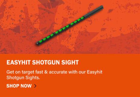 EasyHit Shotgun Sight on orange background