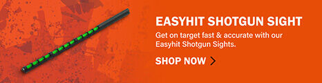 EasyHit Shotgun Sight on orange background