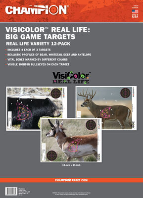 VisiColor Real Life Targets