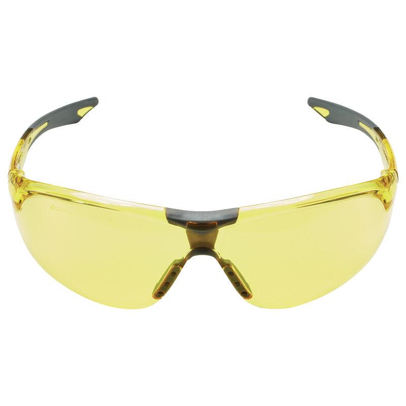 Amber Ballistic Shooting Glasses - Open Frame