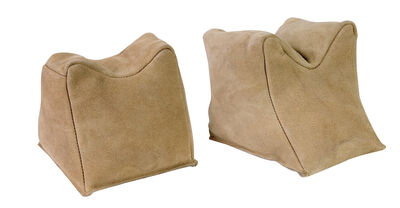 Leather Sand Bag - Suede - Pair
