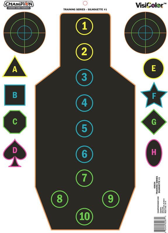 VisiColor® Training Targets