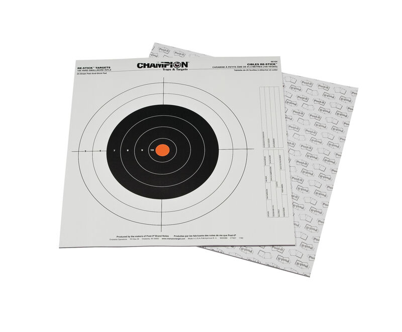 Re-Stick™ Target 100yd Small Bore Rifle