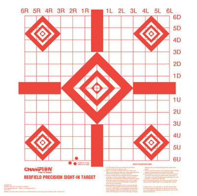 Redfield Sight-In Targets