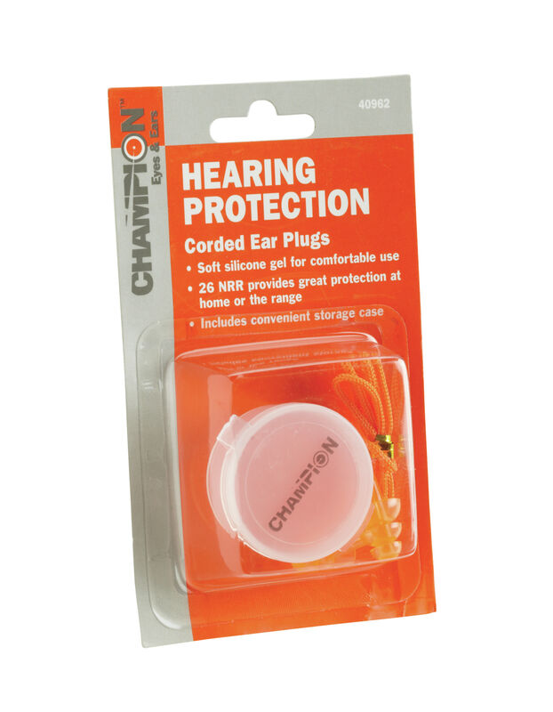 Silicone Gel Ear Plugs with Case