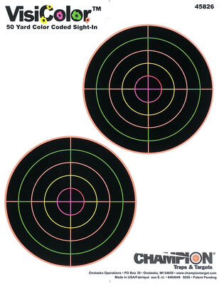 Adhesive VisiColor® Targets