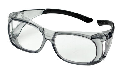 Clear Over-Specs Ballistic Shooting Glasses